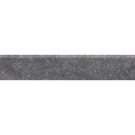 Sokel Rako Kaamos čierna 9x45 cm, mat, rektifikovaná DSAPM588.1