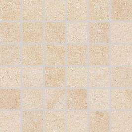 Mozaika Rako Kaamos béžová 30x30 cm mat DDM06586.1