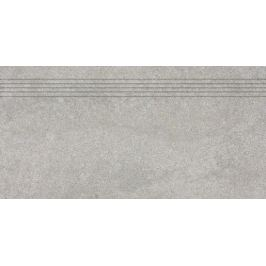 Schodovka Rako Kaamos šedá 30x60 cm mat DCPSE587.1