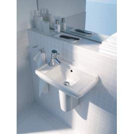 Umývadielko Duravit Starck 3 50x26 cm bez otvoru pre batériu, s prepadom 0751500000