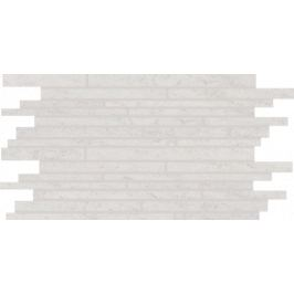 Dekor Rako Pietra svetlo šedá 30x51 cm, mat, rektifikovaná DDPSE630.1