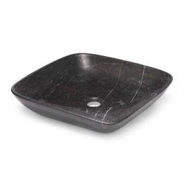 Umývadlo na dosku Triomini Lapis 46x46 cm Blue stone mat bez prepadu LA4646BS