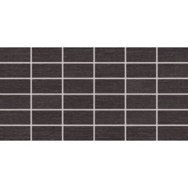 Mozaika Rako Fashion čierna 30x60 cm mat DDMBG624.1