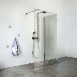 Sprchový kút Roltechnik Walk-in 90 cm, chróm profil, univerzálny 939-1500900-00-02