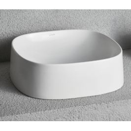 Umývadlo na dosku Vitra Frame 42,5x40,5 cm bez otvoru pre batériu, bez prepadu 5655-403-0016