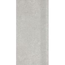 Schodovka Rako Base R svetlo šedá 30x60 cm mat DCPSE432.1