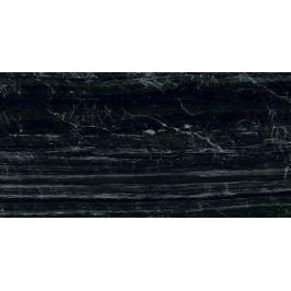 Dlažba Graniti Fiandre Marmi Maximum Nero Supremo 37,5x75 cm leštěná MML29673