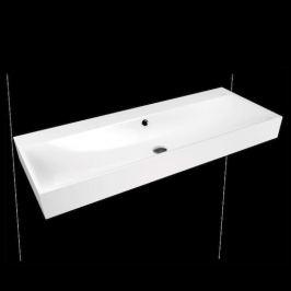 Umývadlo Kaldewei Silenio 3046 120x46 cm alpská biela bez prepadu 904506373001