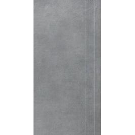 Schodovka Rako Extra tmavo šedá 30x60 cm mat DCPSE724.1