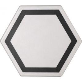 Dlažba Tonalite Examatt bianco 15x17 cm mat EXMDEXABI