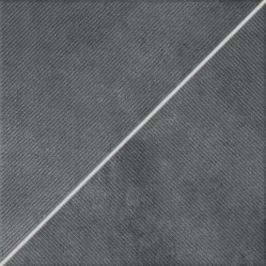 Dekor Rako Form tmavo šedá 33x33 cm mat DDP3B697.1