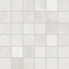 Mozaika Rako Form svetlo šedá 30x30 cm mat DDM05695.1