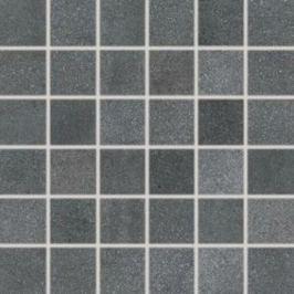 Mozaika Rako Form tmavo šedá 30x30 cm, mat, rektifikovaná FINEZA46314