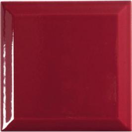 Dlažba Tonalite Diamante bordeaux diamant 15x15 cm, lesk DIA562