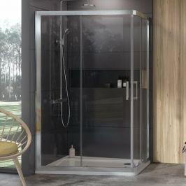 Sprchový kút obdĺžnik 90x190 cm Ravak 10° chróm matný 0ZVG70U00Z1