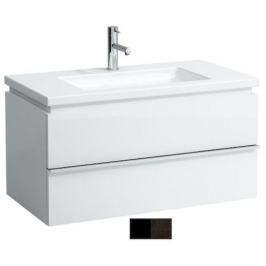 Kúpeľňová skrinka pod umývadlo Laufen Case 89,5x47,5x45,5 cm v dekore antracitový dub H4012620755481