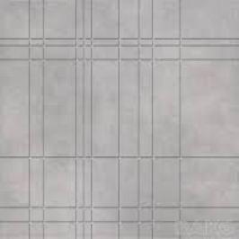 Rozeta Rako Essence šedá žíhaná 45x45 cm, mat DDF44341.1