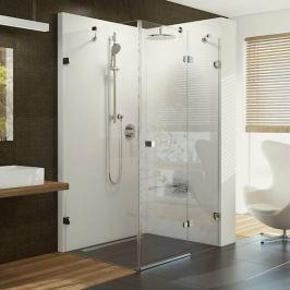Sprchový kút Ravak Brilliant jednokrídlové 80 cm, sklo číre, chróm profil, pravé BSDPS80TCRP