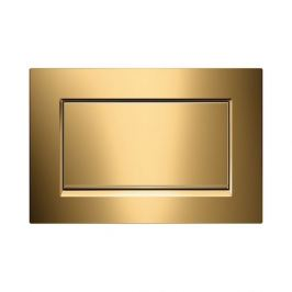Dvojčinné ovládacie tlačidlo Geberit Sigma zinok, zlatá 115.893.45.1