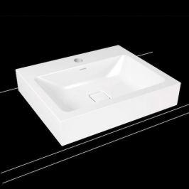 Umývadlo na dosku Kaldewei Cono 3085 60x50 cm alpská biela otvor pre batériu, bez prepadu 902106013001