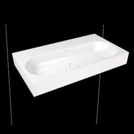 Umývadlo Kaldewei Centro 3062 90x50 cm alpská biela bez otvoru pre batériu, bez prepadu 903506003001