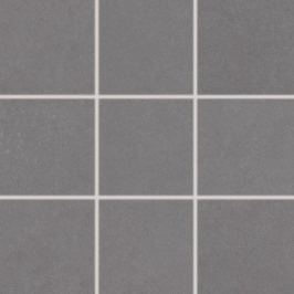 Dlažba Rako Trend tmavo šedá 10x10 cm, mat, rektifikovaná DAK12655.1