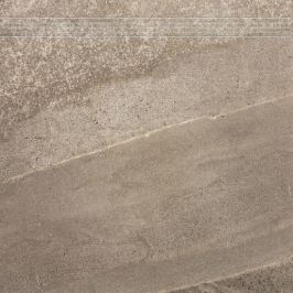 Schodovka Rako Random hnedá 60x60 cm mat DCP63677.1