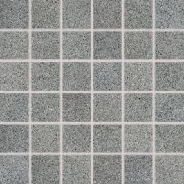 Mozaika Rako Grain šedá 30x30 cm pololesk DDM06674.1