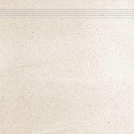 Schodovka Rako Random svetlo béžová 60x60 cm, mat, rektifikovaná DCP63676.1