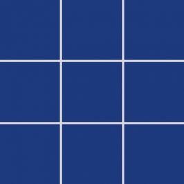 Mozaika Rako Color Two kobaltovo modrá 10x10 cm, mat GAA0K555.1