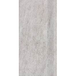Schodovka Rako Pietra šedá 30x60 cm mat DCPSE631.1