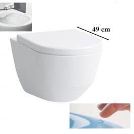 Závesné WC Laufen Laufen Pro, zadný odpad, 49cm 2096.5.400.000.1