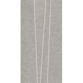 Dekor Rako Rock svetlo šedá 30x60 cm, mat, rektifikovaná DDVSE634.1