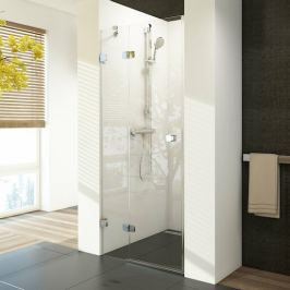 Sprchové dvere 80x195 cm levá Ravak Brilliant chróm lesklý 0UL4AA00Z1