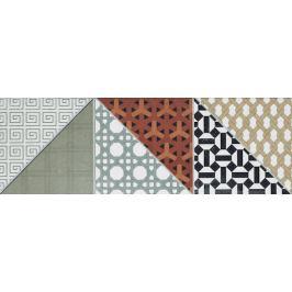 Dekor Rako Deco mix farieb 15x45 cm, mat, rektifikovaná DDPPD659.1