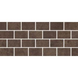 Mozaika Rako Golem hnedá 20x45 cm mat DDPPP651.1