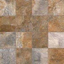 Mozaika Sintesi Newslate hnedá 30x30 cm, mat NEWSLATE1990