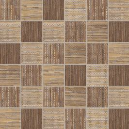 Mozaika Dom Canvas red/gold 33x33 cm mat DCAM58