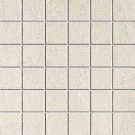 Mozaika Dom Stone Fusion milk 30x30 cm mat DSFM10