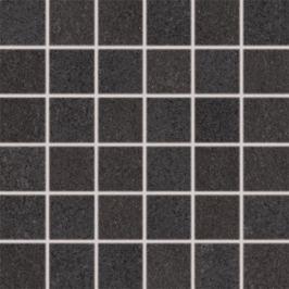 Mozaika Rako Unistone čierna 30x30 cm, mat, rektifikovaná DDM06613.1