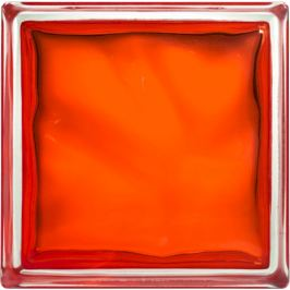 Luxfera Glassblocks orange 19x19x8 cm sklo 1908WOR