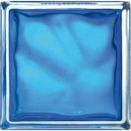 Luxfera Glassblocks blue 19x19x8 cm sklo 1908WBB