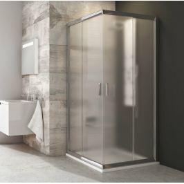 Sprchový kút Ravak Blix štvorec 90 cm, nepriehľadné sklo, chróm profil BLRV290GBR