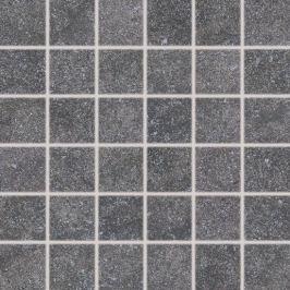 Mozaika Rako Kaamos čierna 30x30 cm mat DDM06588.1
