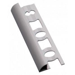 Profil-EU Lišta ukončovacia oblá PVC biela, 8 mm, 250 cm L8250