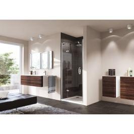 Sprchové dvere Huppe Strike jednokrídlové 90 cm, sklo číre, chróm profil, pravé 430202.092.322