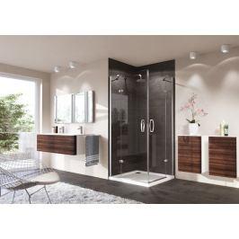 Sprchové dvere Huppe Strike jednokrídlové 100 cm, sklo číre, chróm profil, pravé 430403.092.322