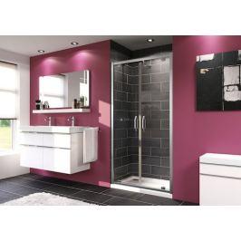 Sprchové dvere Huppe Next dvojkrídlové 90 cm, sklo číre, chróm profil 140905.069.322