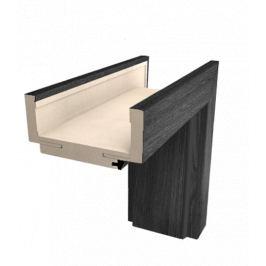 Obložková zárubňa Naturel 60 cm pre hrúbku steny 7,5-9,5 cm brest antracit pravá O1JA60P
