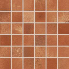 Mozaika Rako Via červenohnedá 30x30 cm mat DDM05712.1